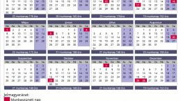 munkaidő naptár MUNKAIDŐ NAPTÁR 2017 letöltés – 24 óra! – Friss hírek, pénzügyek  munkaidő naptár
